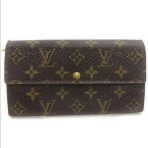 Louis Vuitton Long Wallet Portefeuille